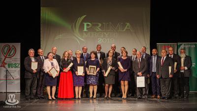 Körmenden köszöntötték Vas megye Prima Díjasait