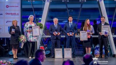 Ok érdemelték ki idén a VOSZ Prima díját Fejér megyében