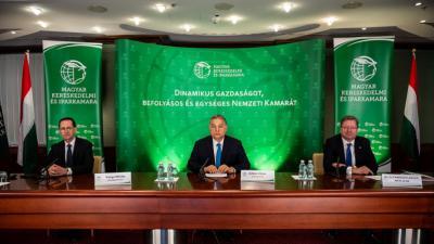 MKIK évnyitó: új kkv-hitelkonstrukciót jelentett be a miniszterelnök